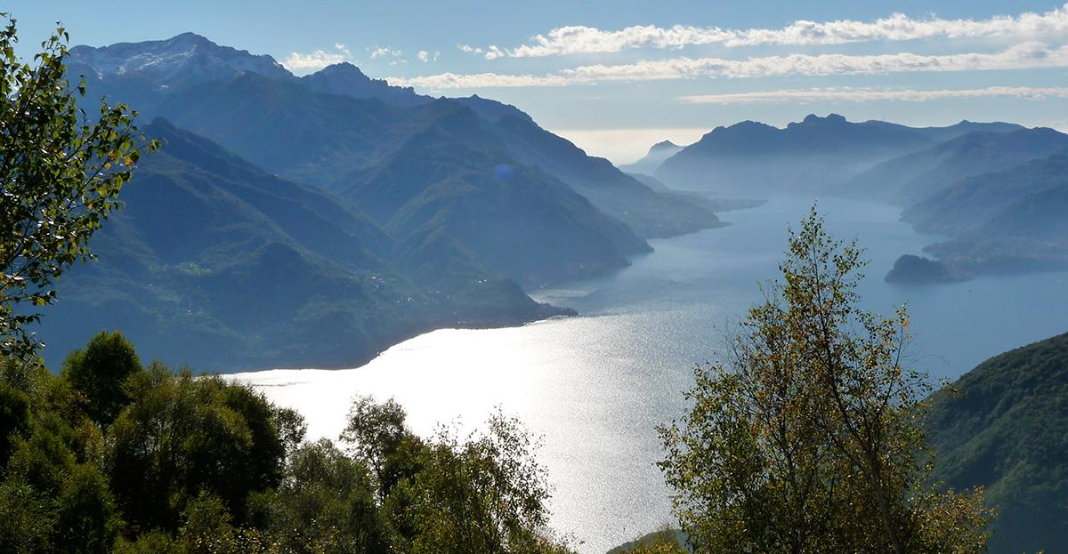 Sommerlicher Lago di Como